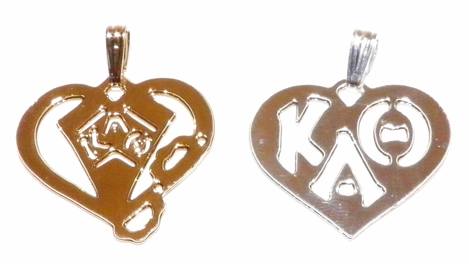 Kappa Alpha Theta pendants
