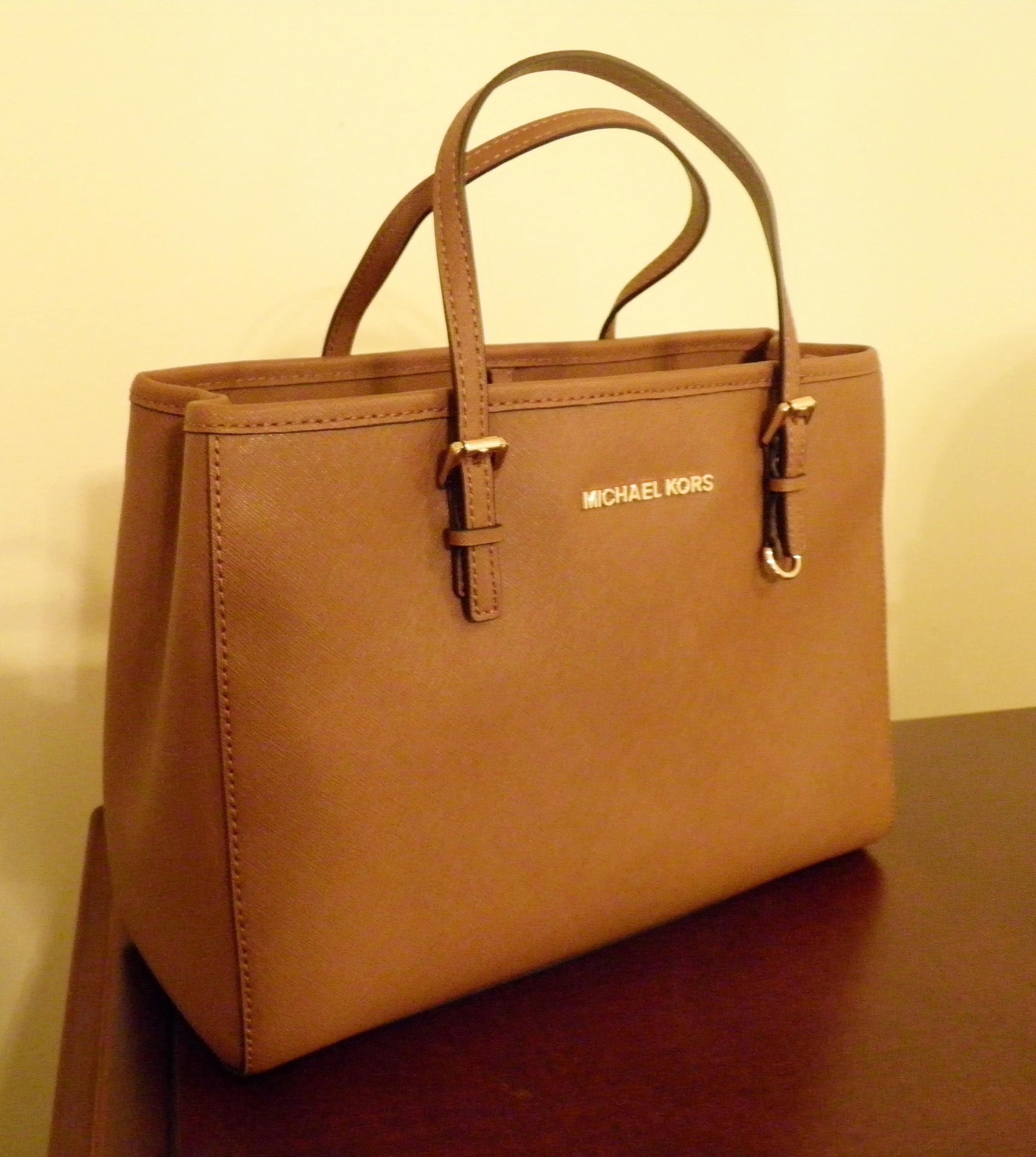 Michael Kors Bag (side view)