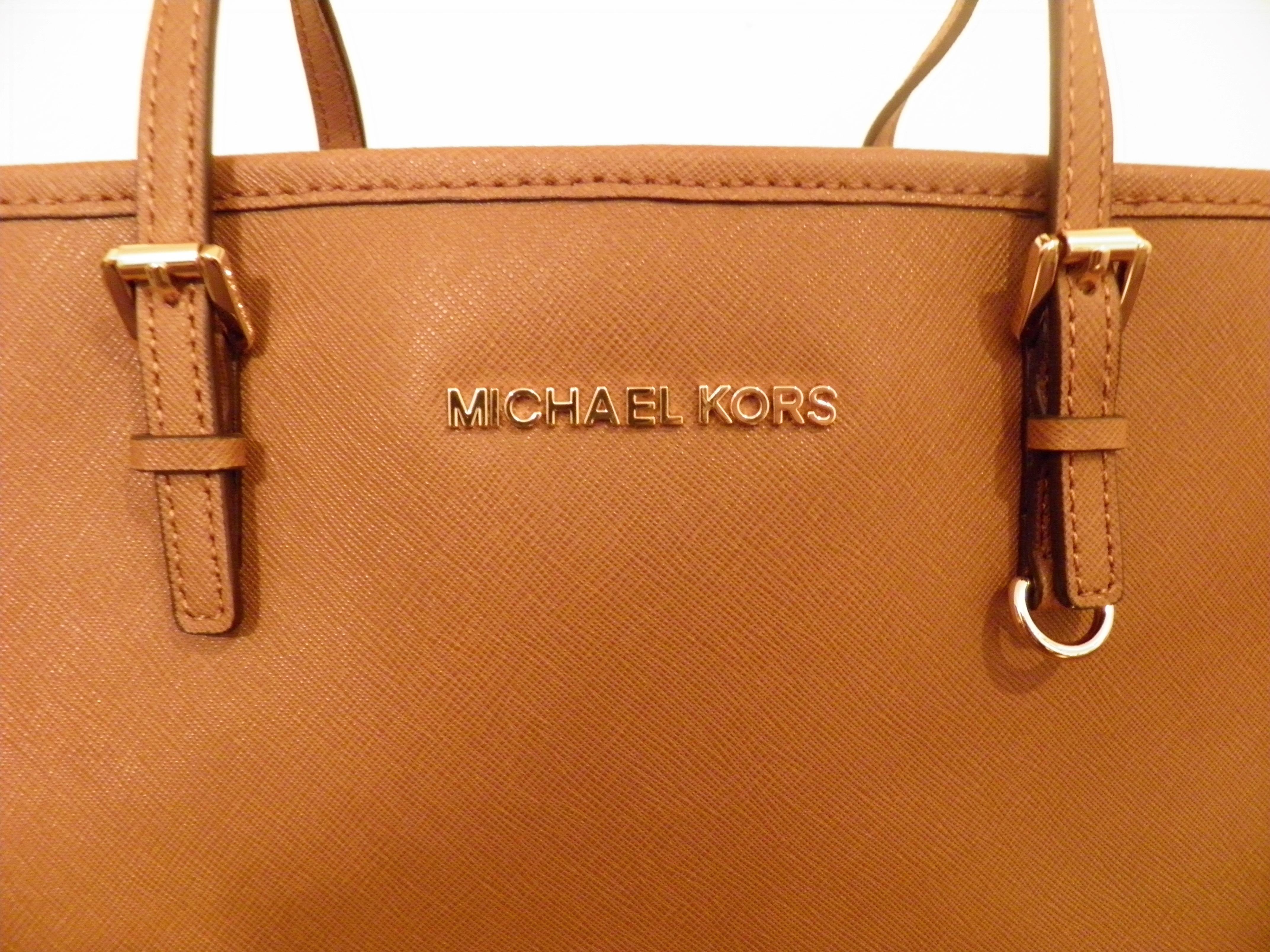 Michael Kors bag (label)